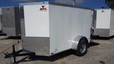 5x10 Enclosed Trailers For Sale